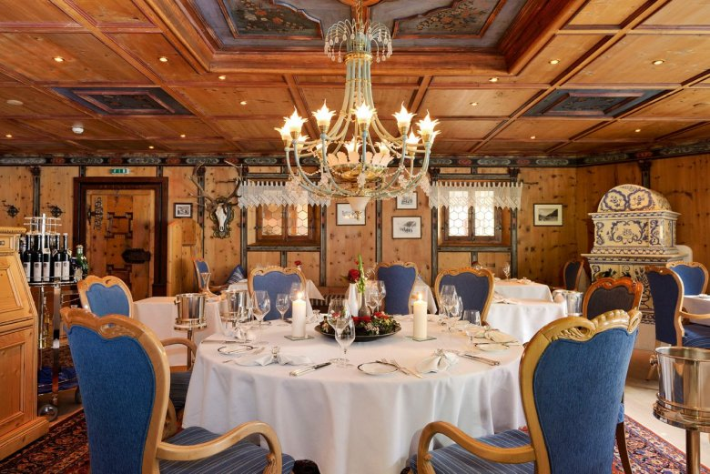 Das Haubenrestaurant Paznaunerstube Foto: Hotel Trofana Royal GmbH