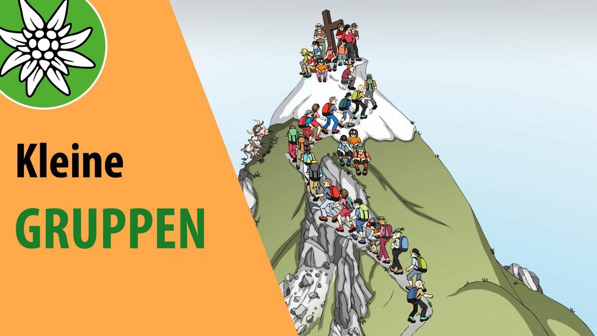 Kleine Gruppen, © Alpenverein Österreich