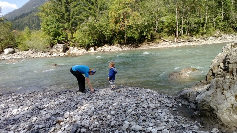 Steinmandl oder Steine werfen, das ist hier die Frage (c) Tirol Werbung – Julia König