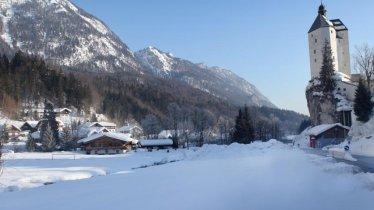 Winterwanderung zur Wallfahrtskirche Mariastein, © Kitzbüheler Alpen - Hohe Salve