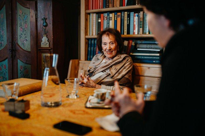 """Die 90-jährige Seniorchefin Margit Covi macht nach eigenen Angaben """"nichts mehr""""."""