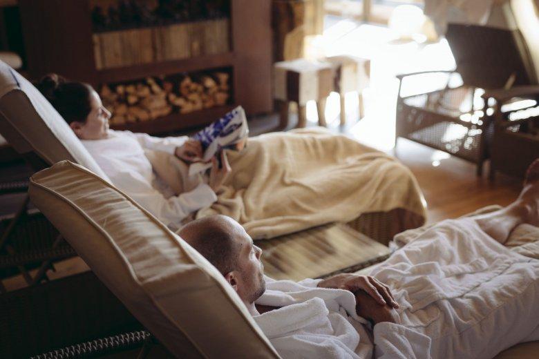 Wellnesshotels in den Alpen sind optimal, um der Hektik des Alltags zu entfliehen.
