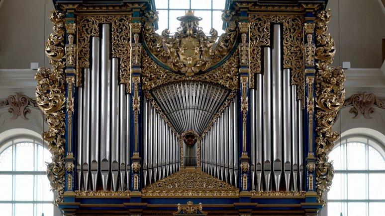 Die berühmte Orgel im Innsbrucker Dom zu St. Jakob, © TVB Innsbruck - Patrick Saringer