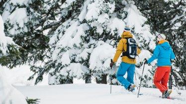 Schneeschuhwanderung Auffangalm Richtung Seblasspitze, © Stubai Tirol/Andre Schönherr