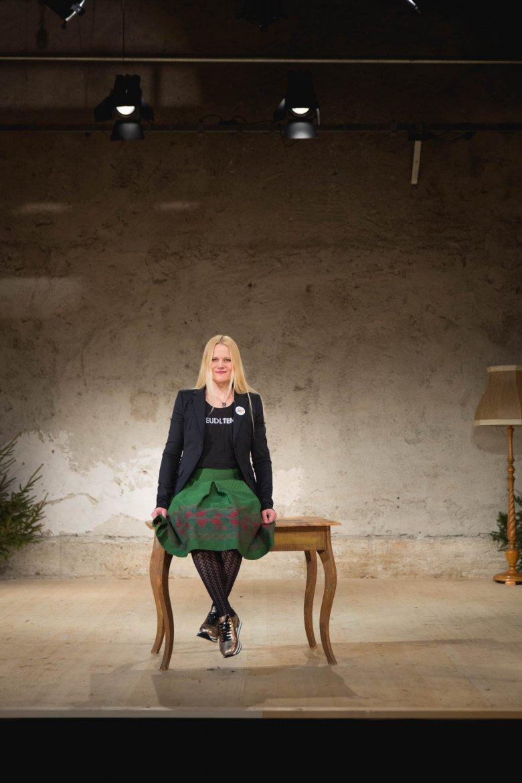 """Bernadette Abendstein – Mitbegründerin des """"Steudltenn Theaterfestivals"""". Foto: BertHeinzlmeier"""