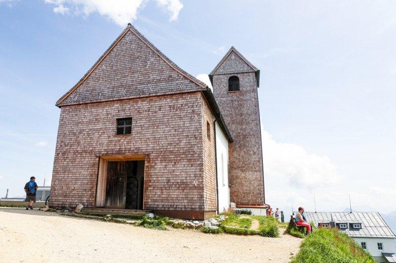 Die Johanneskapelle auf der Hohen Salve, Foto: Carlos Blanchard