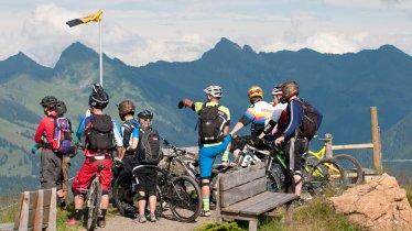 Bikeguiding in den Kitzbüheler Alpen, © Tirol Werbung/Michael Werlberger