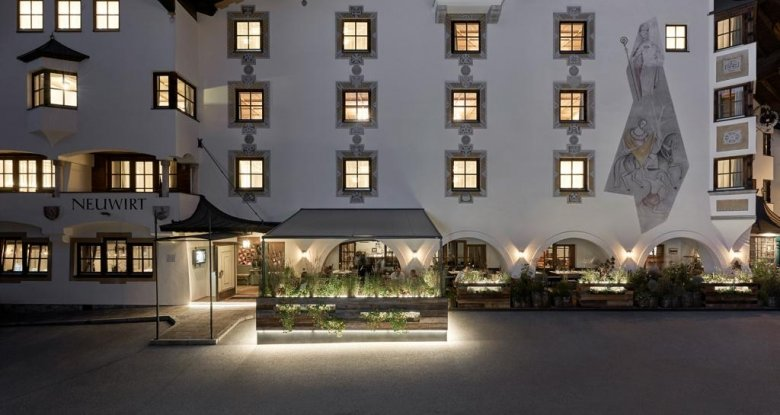 Restaurant Neuwirt, Kitzbühel.