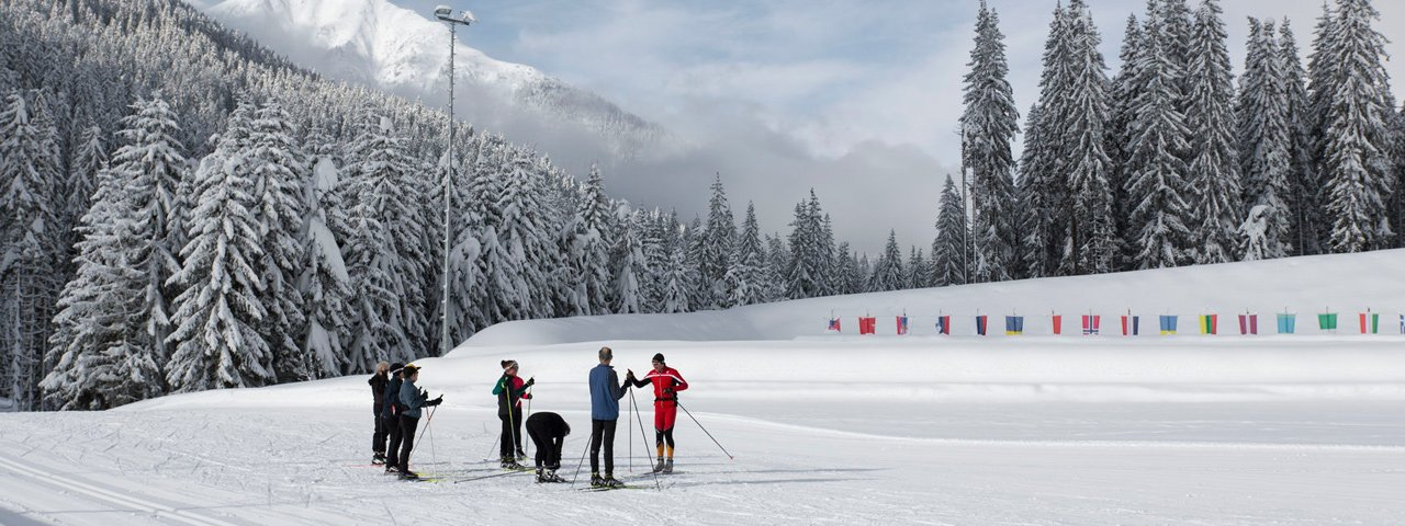 Biathlonanlage in Obertilliach, © Tirol Werbung/Bert Heinzlmeier
