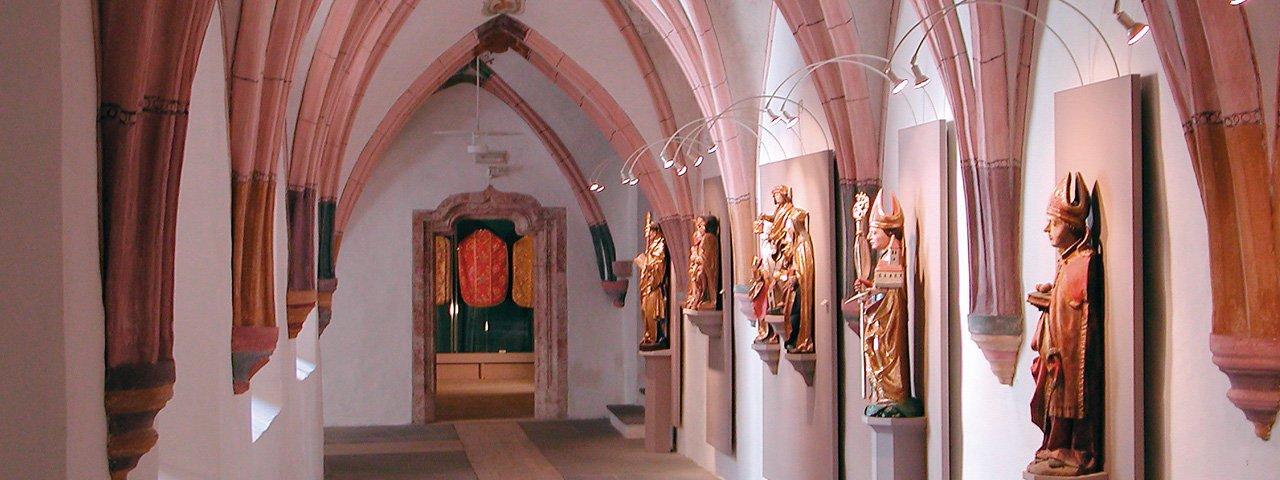 Gotischer Kreuzgang im Augustinermuseum Rattenberg, © TVB Alpbachtal Seenland