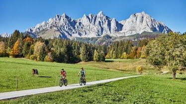 Auf der Kaiserradrunde, © Tourismusverband Wilder Kaiser/ WOM Medien GmbH Stefan Schopf