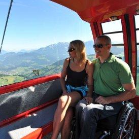 Barrierefreie Bergbahnen im Sommer, © SkiWelt Wilder Kaiser- Brixental