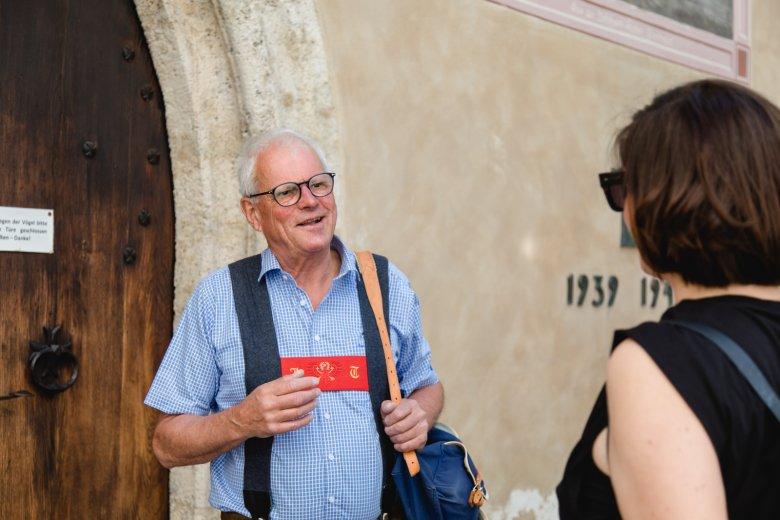 Stadtführung mit Pepi Treichl: Seit 1993 zeigt er Gästen sein Kitzbühel. , © Maria Kirchner