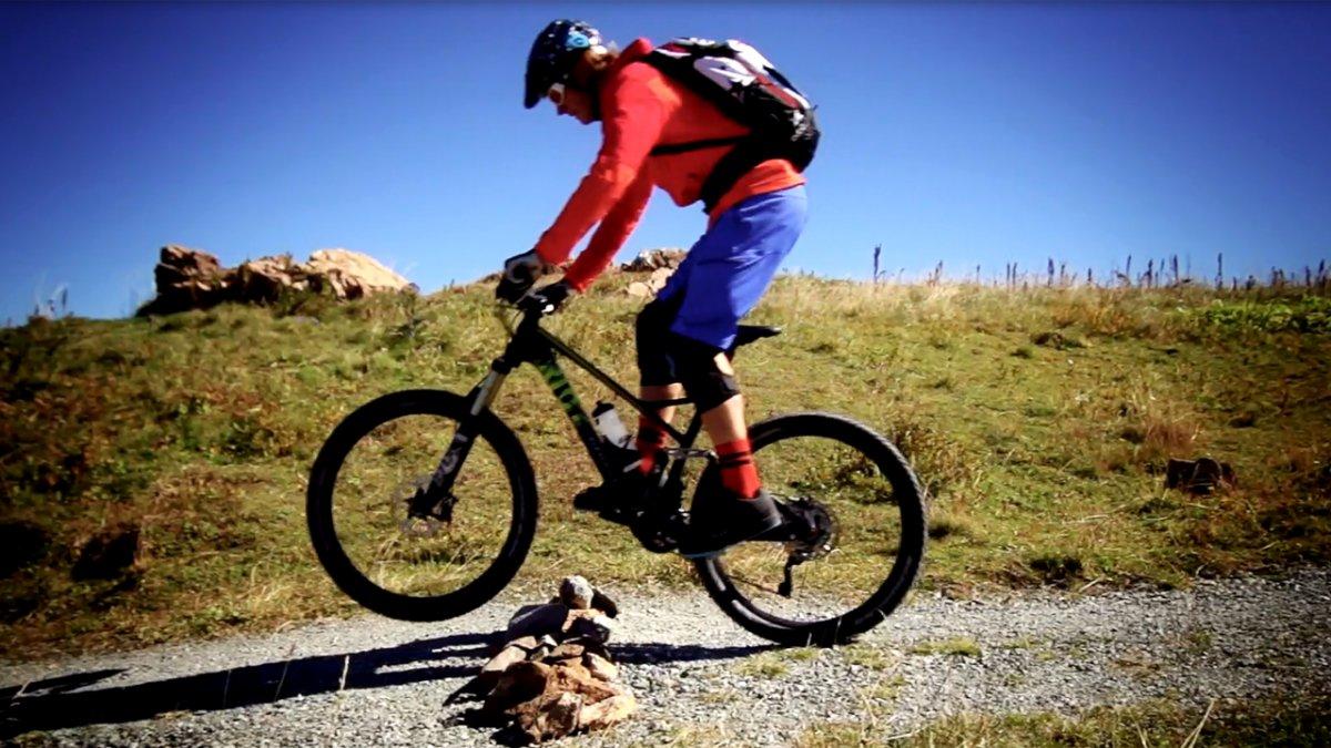 MTB Fahrtechnik Training (6): Mountainbike Hindernisse