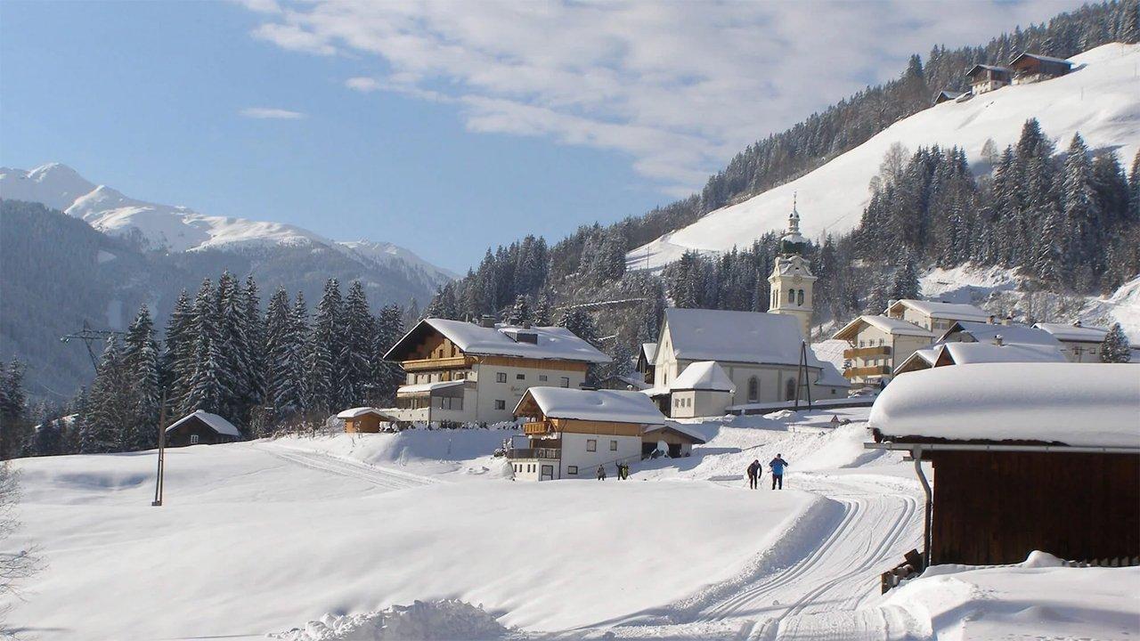 Winter in Untertilliach, © TVB Osttirol