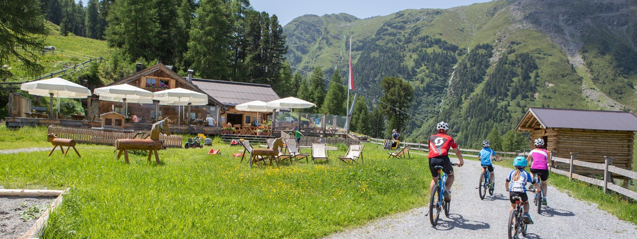 Mountainbiken in Serfaus, © Andreas Kirschner