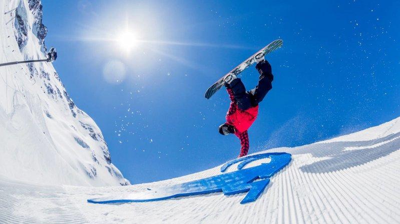 Beste Schneebedingungen am Kaunertaler Gletscher, © Cyrill Müller