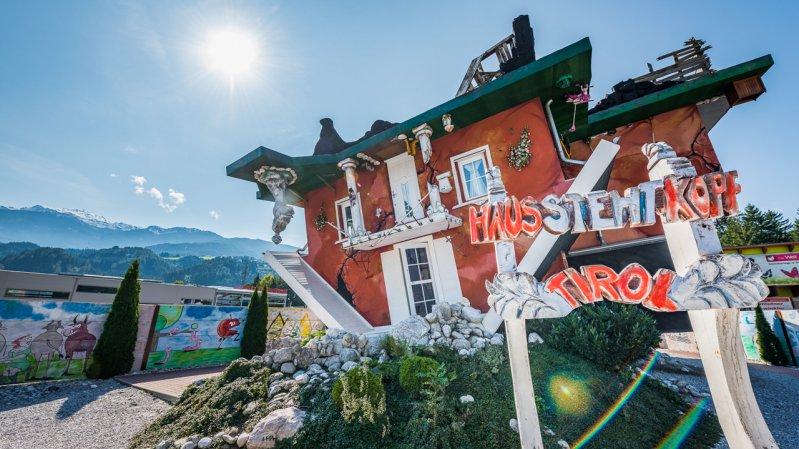 Haus steht Kopf, © Silberregion Karwendel