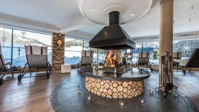 Panorama Ruheraum Fireplace