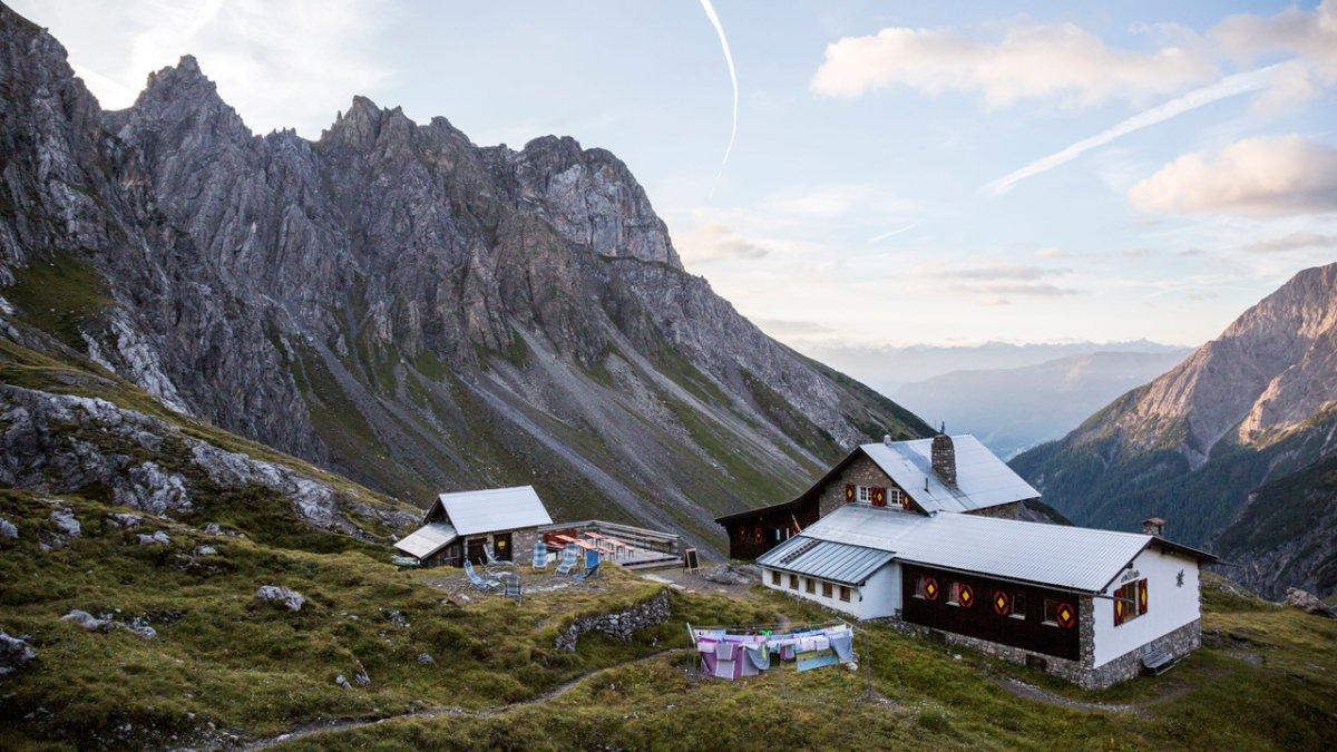 Adlerweg: Etappenziel Württemberger Haus, © Tirol Werbung