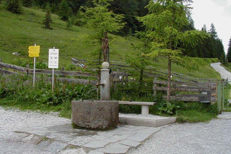 Marienbrunnen Maria Waldrast, Foto: Maria Waldrast