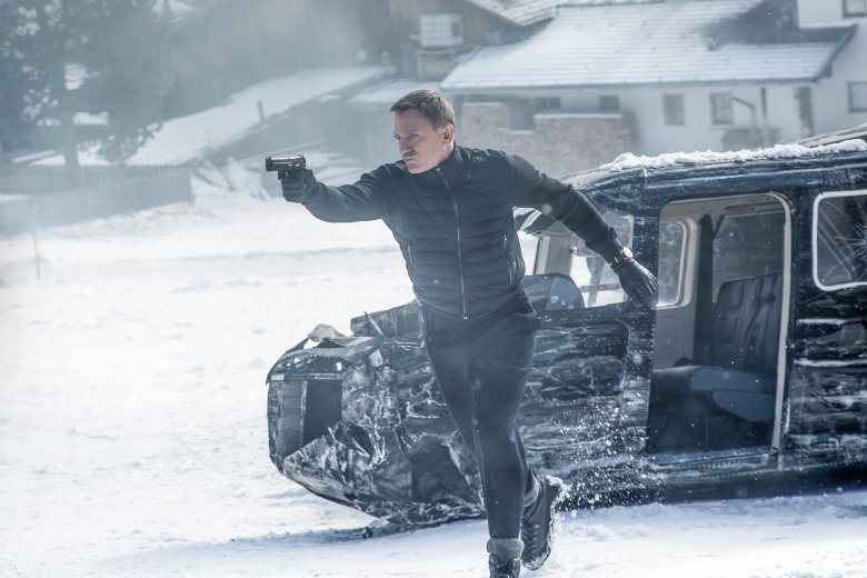 James Bond in Obertilliach. Foto: 2015 Sony Pictures Releasing GmbH