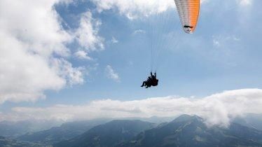 Paragliden von der Hohen Salve, © Tirol Werbung / Kranzler Paul