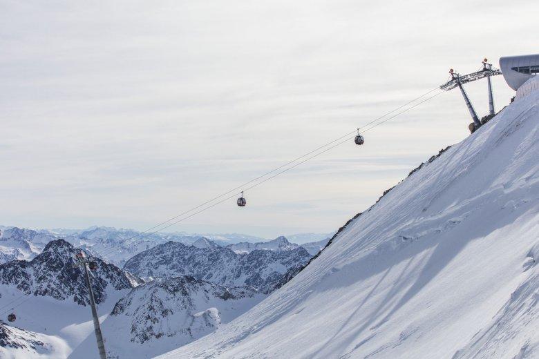 Wildspitzbahn am Pitztaler Gletscher