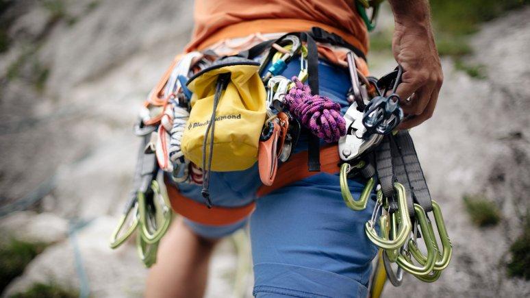 Kletterausrüstung, © Tirol Werbung / Manfred Jarisch