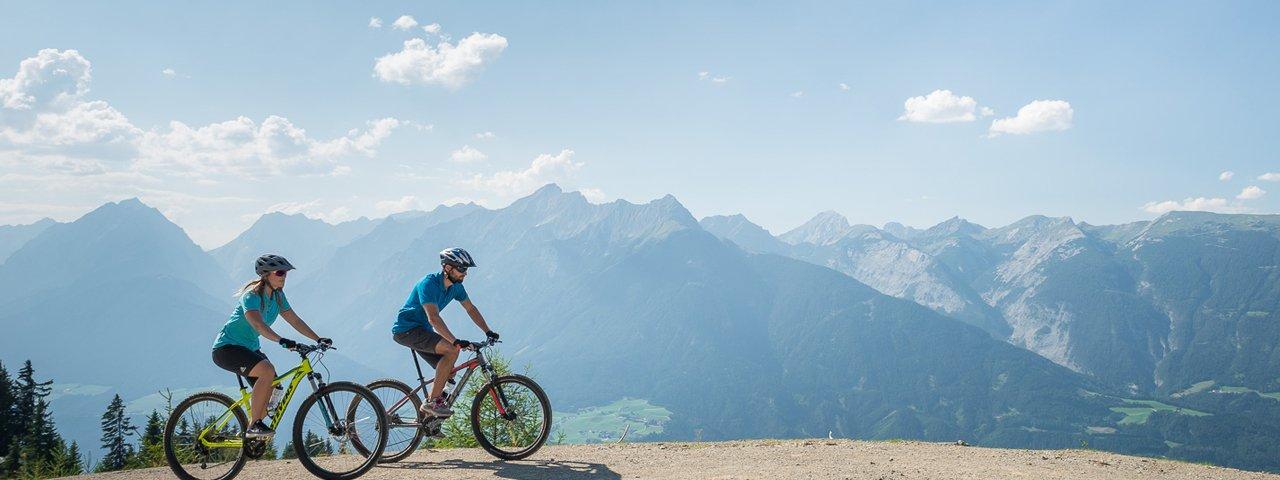 Mountainbiken in der Silberregion Karwendel, © TVB Silberregion Karwendel