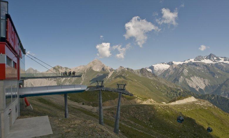 Panorama bei der Adler Lounge in Osttirol, Foto: schultz-ski.at