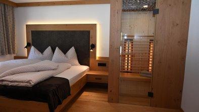 Apart Talblick - Schlafzimmer m. Inrarotkabine (2)