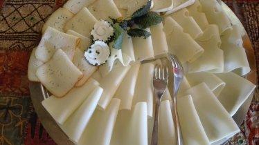 Käseplatte auf dem Buffet