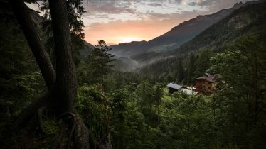 View of the Kaisertal Valley with the Hans-Berger-Haus, © TVB Kufsteinerland/Lolin