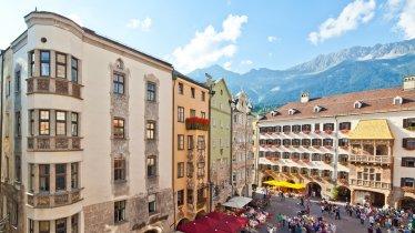 Goldenes Dachl in der Innsbrucker Altstadt, © TVB Innsbruck / Christof Lackner