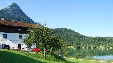 Haus Seefried am See Hausansicht mit Pendling
