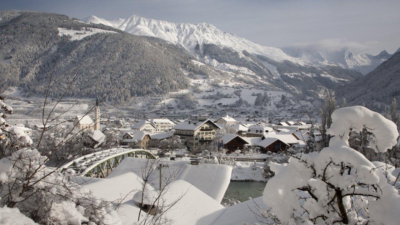 Prutz im Winter, © Tiroler Oberland