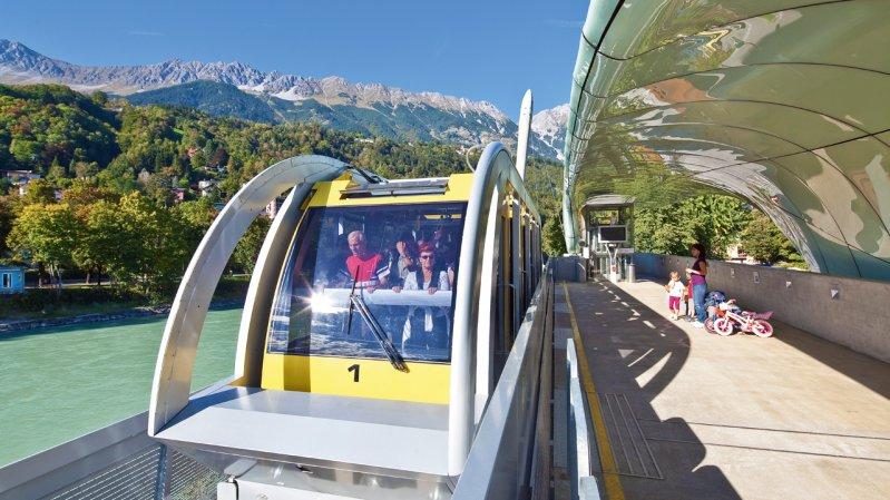 Hungerburgbahn, © TVB Innsbruck