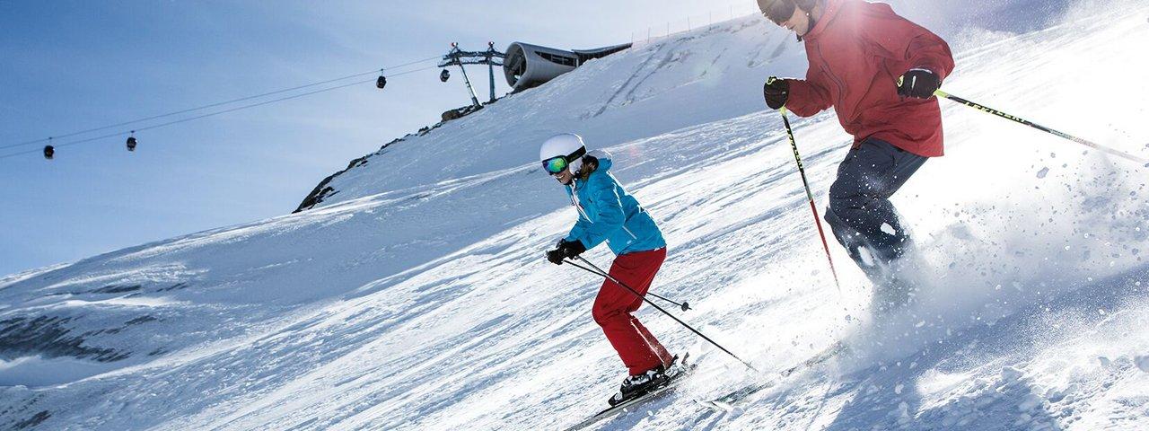 Skifahren im Pitztal, © Pitztaler Gletscher / Daniel Zangerl