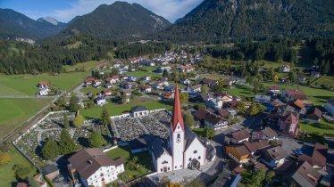Breitenwang im Sommer, © Naturparkregion Reutte/Gemeinde Breitenwang/Rolf Marke