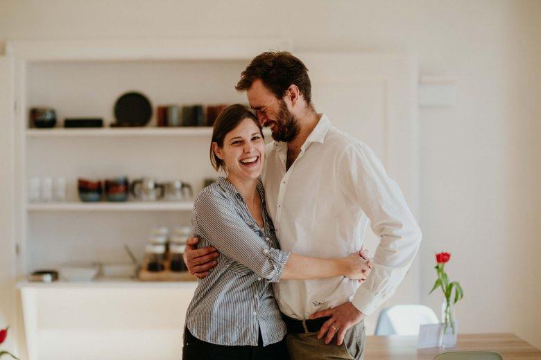 Ursula und Marek haben sich durch ihre Leidenschaft zu alten Häusern kennen und lieben gelernt.