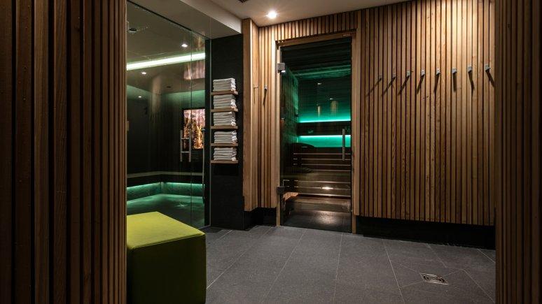 Wellnessbereich im Biohotel Holzleiten, © Hotel Holzleiten