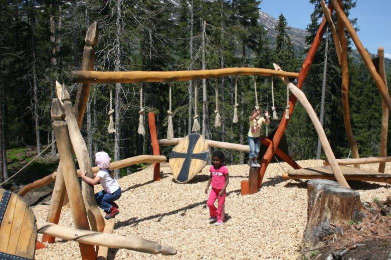Spielplatz Naturparkhaus Kaunergrat © Naturpark Kaunergrat