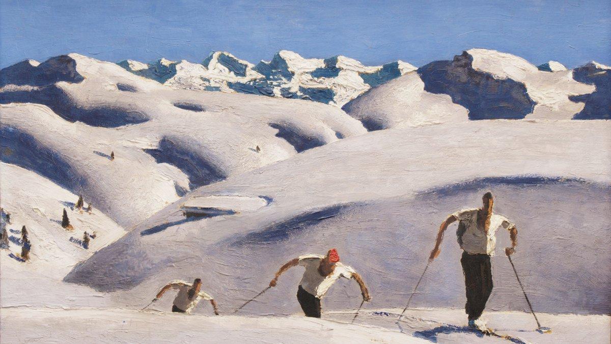 Kunst Berge