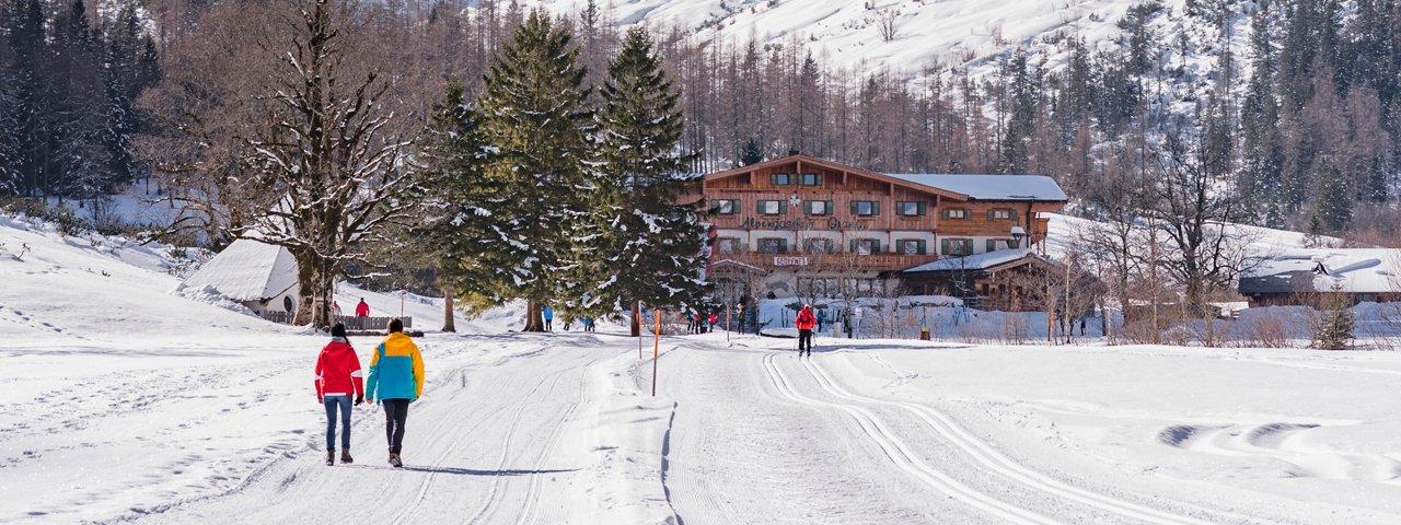 Winterwanderungen zu Hütten in Tirol, © Achensee Tourismus