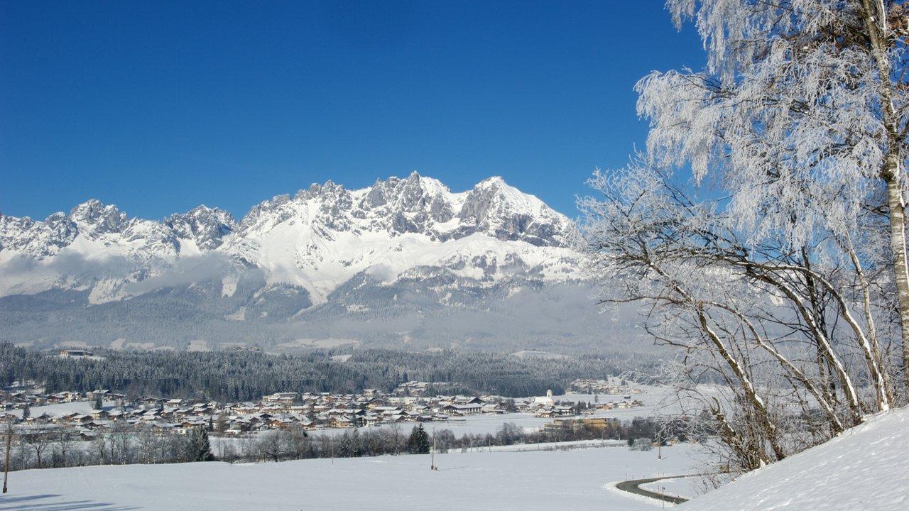 Oberndorf in Tirol im Winter, © Albin Niederstrasser
