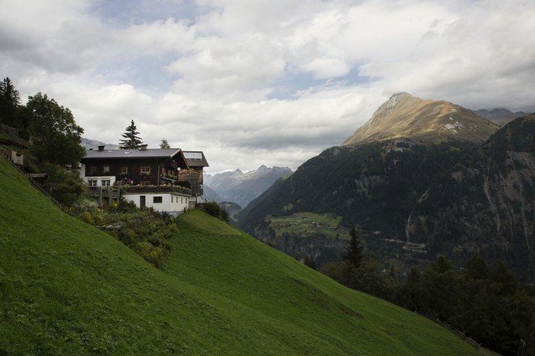 Strumerhof hoch über Matrei in Osttirol