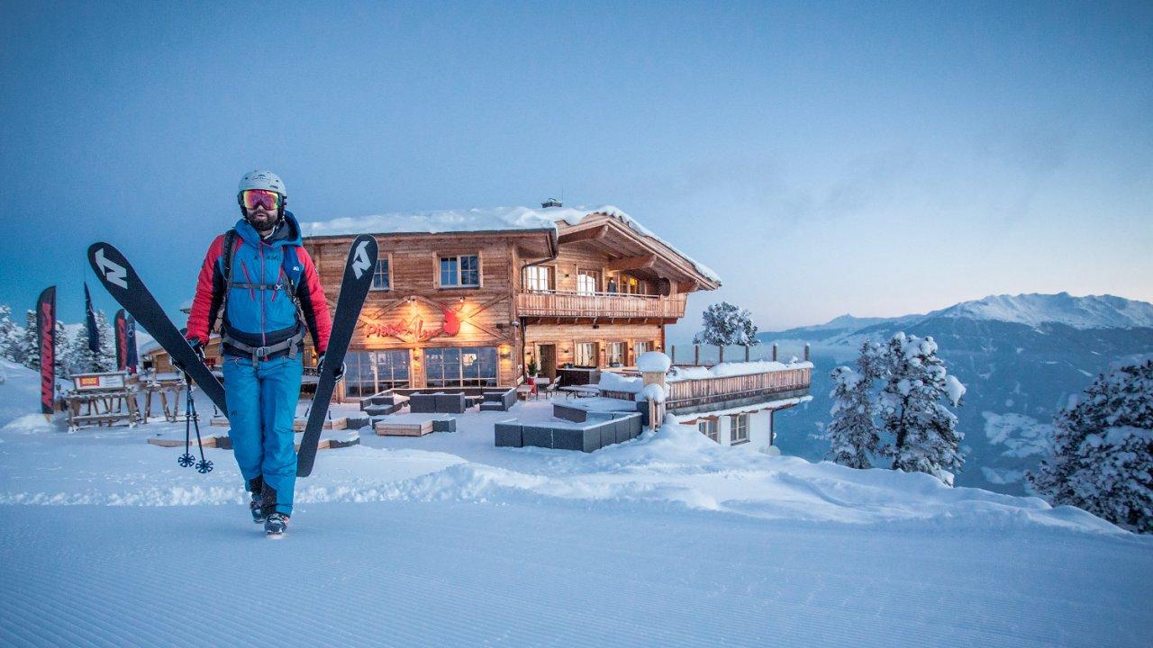 Platzlalm im Skigebiet Hochzillertal, © Simon Rainer