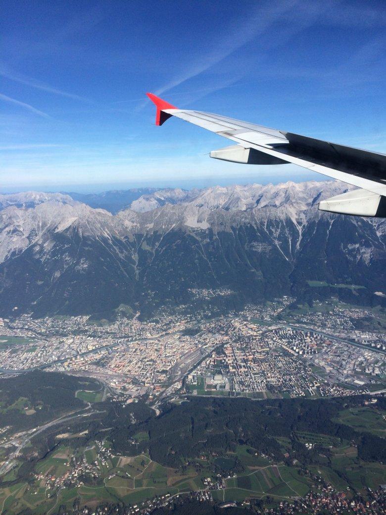 Innsbruck von Oben Mela