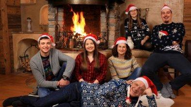 Familienfoto Weihnachten 2020